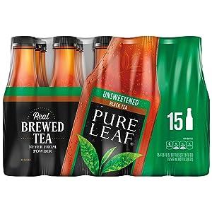 Pure Leaf Unsweetened Iced Tea 18.5 oz. bottles, 15 pk. A1