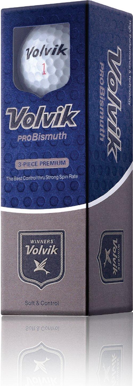 Volvik ProBismuth 3-piece Golf Ball (Pack of 12), White by Volvik