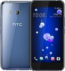 HTC U11 128GB Dual SIM Model - Factory Unlocked Phone - International Version - GSM ONLY, NO Warranty in The US (Amazing Silver)
