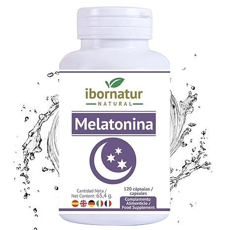 Melatonina para conciliar el sueño | Beneficioso para dormir mejor por más tiempo y relajarse | Reduce el insomnio, estres y fatiga | Extractos de ...