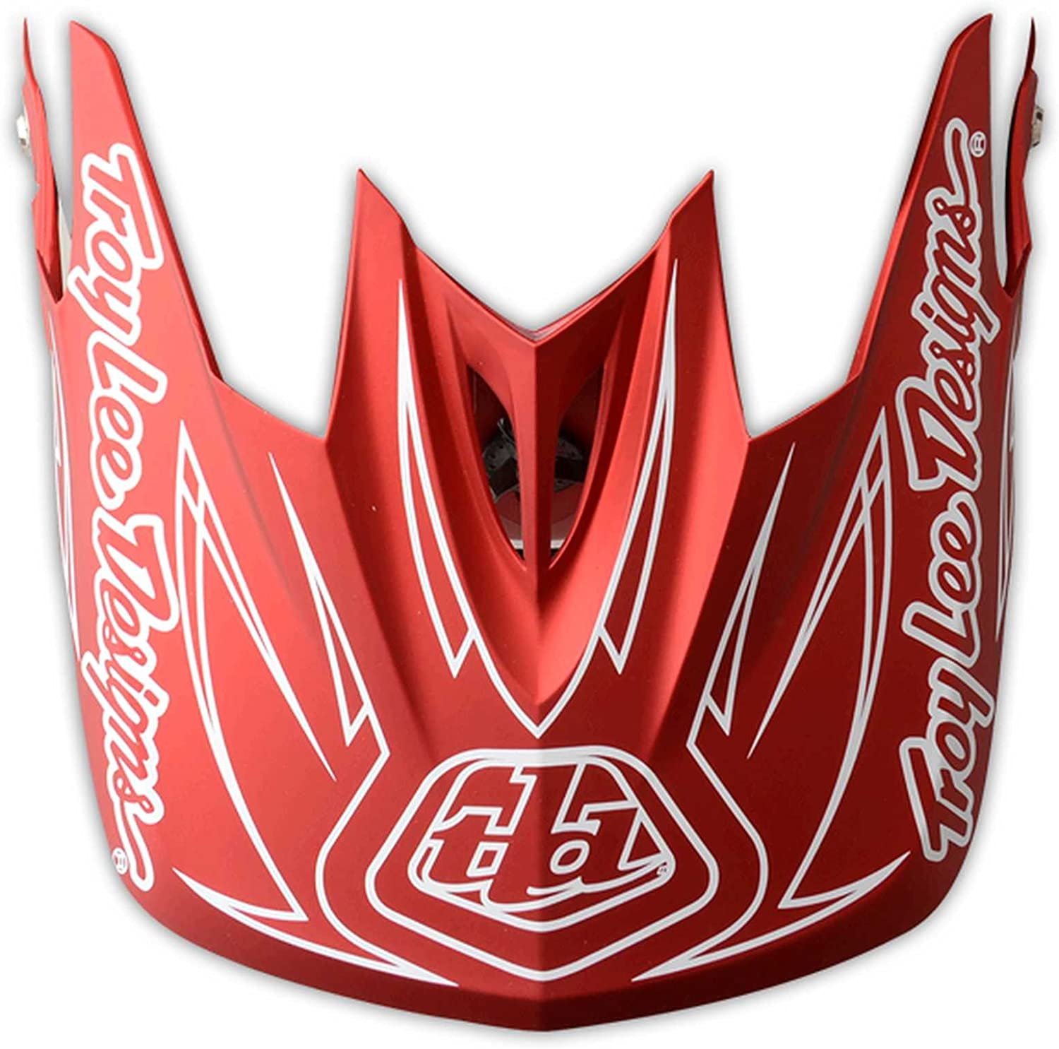 Troy Lee Designs D3 Thunder Visor Off-Road Motorcycle Helmet Accessories Red//White//One Size