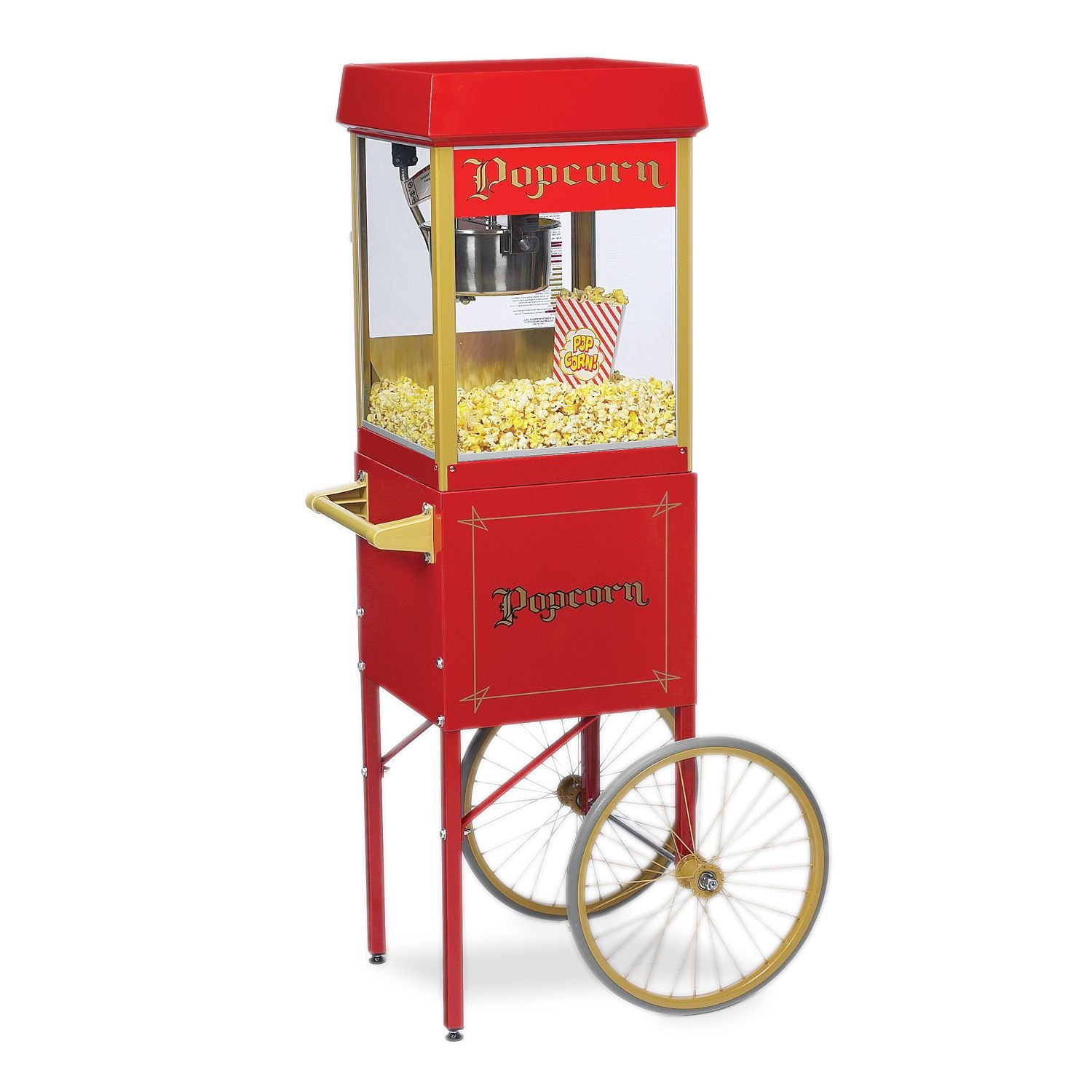 Gold Medal 2404SC ''Funpop'' Popper with Cart, 4oz.