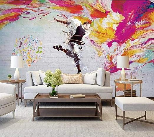 Papel Tapiz Murales Fotograficos En 3d Vitalidad Danza Nostalgica