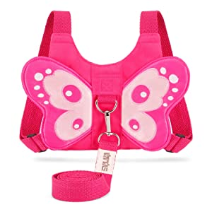 EPLAZA Baby Toddler Walking Safety Butterfly Belt Harness with Leash Child Kid Assistant Strap
