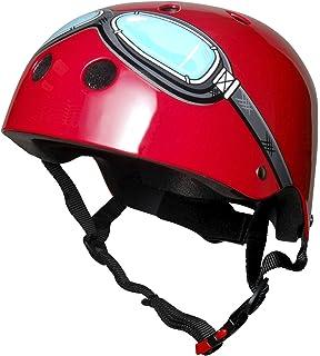 Rojo Gafas Kiddimoto Casco