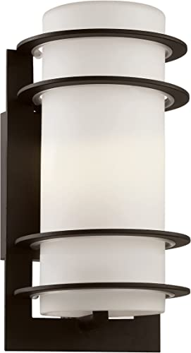 Livex Lighting 2151-01 Monterey 1 Light Outdoor Antique Brass Finish Solid Brass Wall Lantern with Clear Beveled Glass