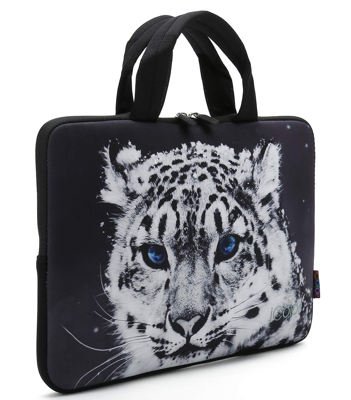 iColor Butterfly 11.6 12 Inch Laptop Case Protective Sleeve Bag Briefcase with Handle IHB12-005
