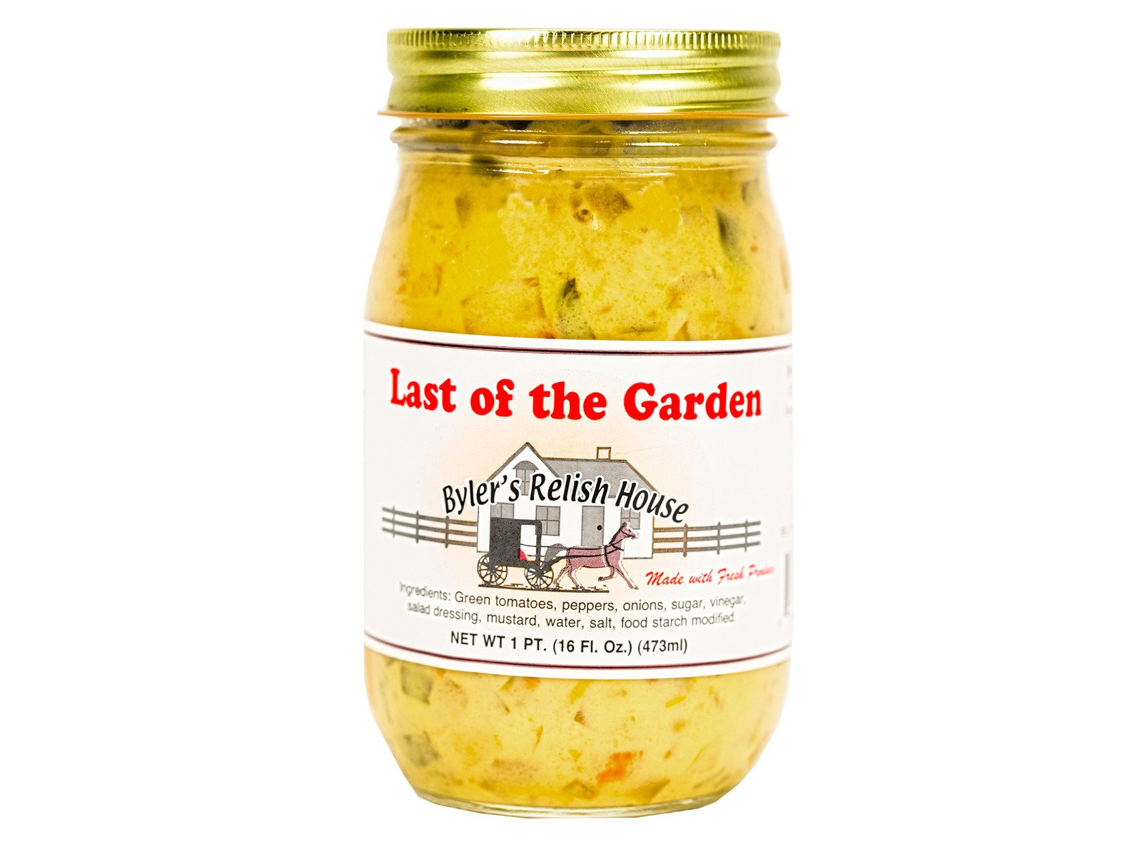 Byler's Last Of The Garden Relish Mix 16oz - (Two Pack)
