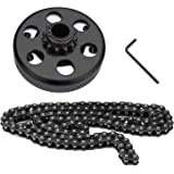 Go Kart Clutch 3/4 Bore 12T with #35 Chain Centrifugal Clutch and Chain for Go Kart Minibike Honda Engines