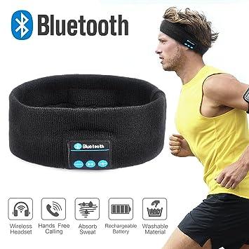 ELEPOWSTAR Tapa de Bluetooth al Aire Libre y Deportes Diadema