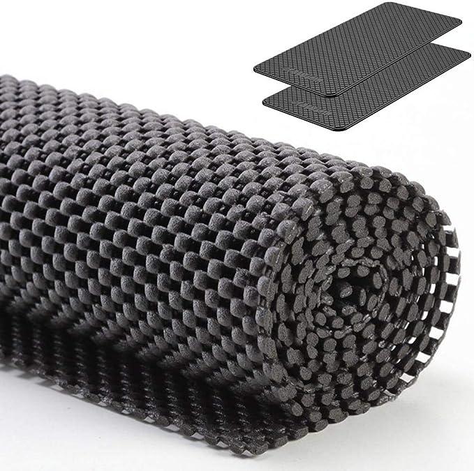 Ganvol Premium Antirutschmatte Skidproof Schutz Rutschhemmende Matte 150 Cm X 100 Cm X 2mm Zuschneidbar Für Kfz Lkw Anhänger Und Kofferraum Kfz Anti Rutsch Matte Auto