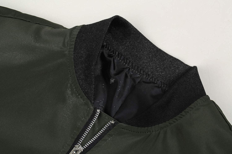 Pengfei Mens Jackets Bomber Varsity Diamond Quilted Fall Winter Coats Outwear