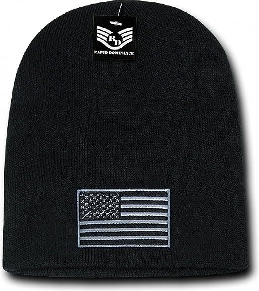 aa9540f506a939 Amazon.com: Rapid Dominance RapDom Tonal USA Flag Mens Cuffless ...