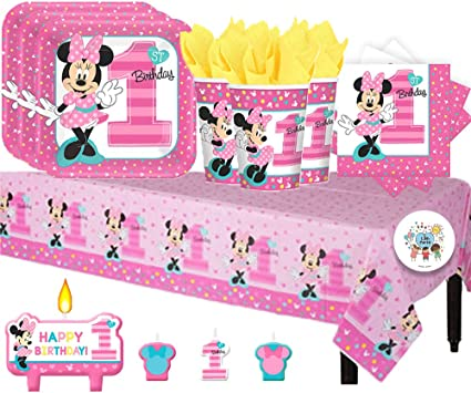 Amazon.com: Disney Minnie Mouse Fun a ser uno paquete de ...