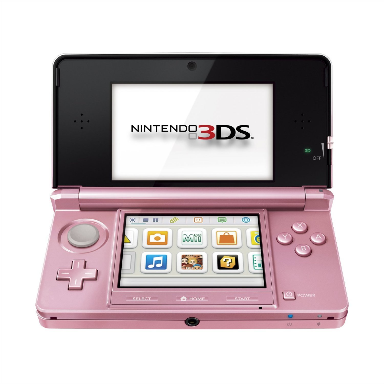 Nintendo 3DS, Pearl Pink by Nintendo