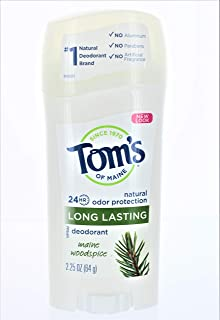 product image for Tom's of Maine Natural Deodorant Stick Woodspice 2.25 oz (Pack of 2)