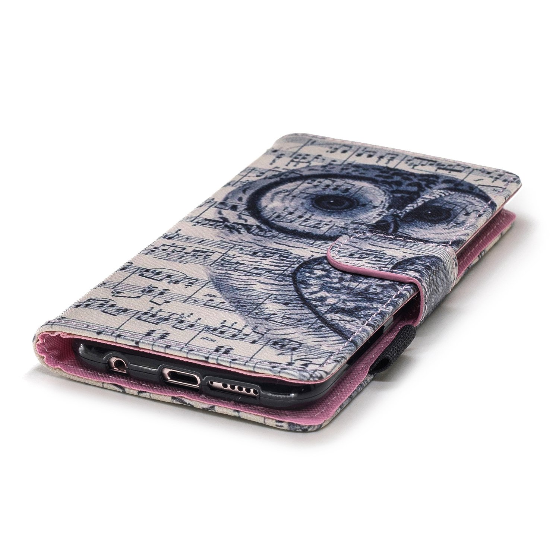 Bunt Fischschule Muster Leder Wallet Case Handyh/ülle Tasche Magnetverschlu/ß mit Kartenfach,EINWEG MoreChioce kompatibel mit Huawei P20 Lite H/ülle,kompatibel mit Huawei P20 Lite Leder Flip Case