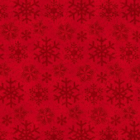 Tela de franela de Navidad de Jan Shade Beach, de Henry Glass, 100 ...