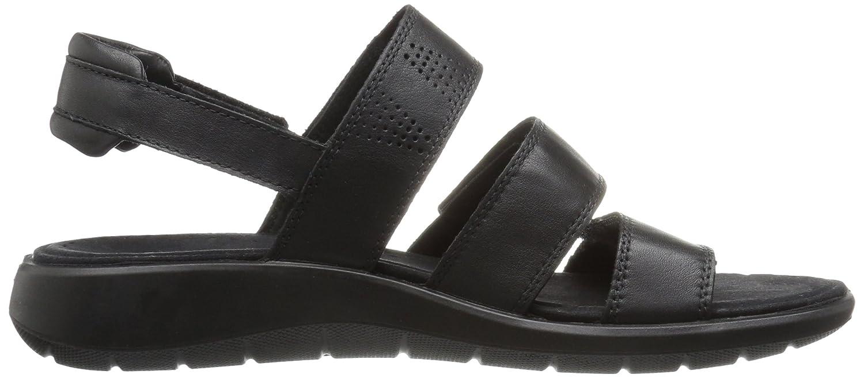 Ecco Damen Soft 5 Offene Sandalen mit Keilabsatz: Amazon.de: Schuhe &  Handtaschen