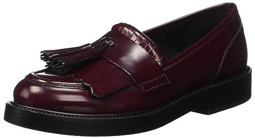 Pennyblack Scudetto, Mocasines para Mujer, Burdeos, 40 EU: Amazon.es: Zapatos y complementos