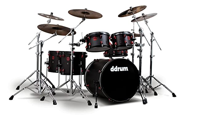 ddrum HYBRID6BLKRED Electronic Drum Set Natural best drum set