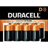 Duracell - CopperTop D Alkaline Batteries with recloseable package - long lasting, all-purpose D battery for household…