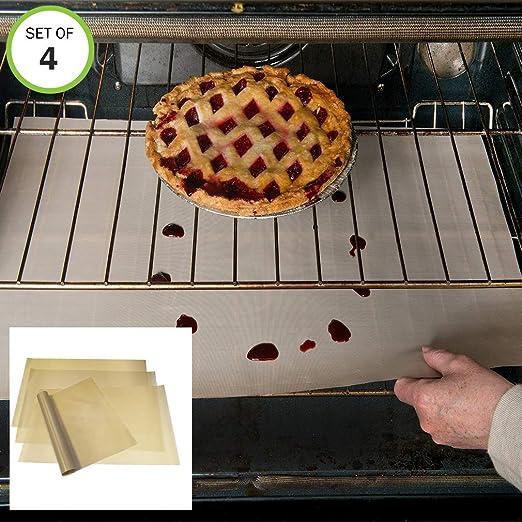 Evelots - Revestimiento para horno (fibra de vidrio antiadherente ...