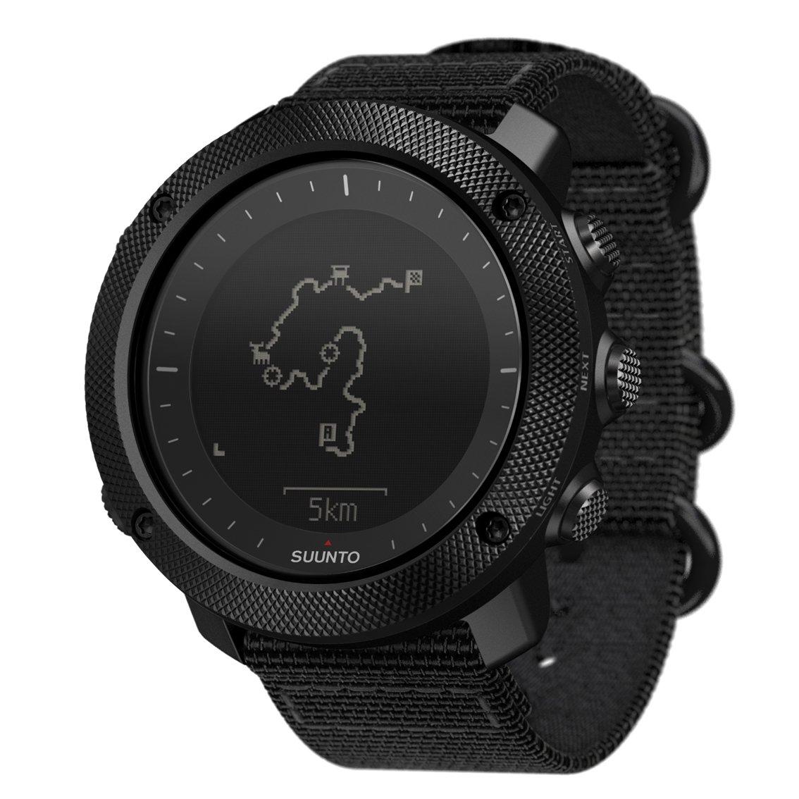SUUNTO TRAVERSE ALPHA (スント トラバース アルファ) スマートウォッチ GPS 登山 気圧計 [日本正規品] B01DNSDBDS  ステルス