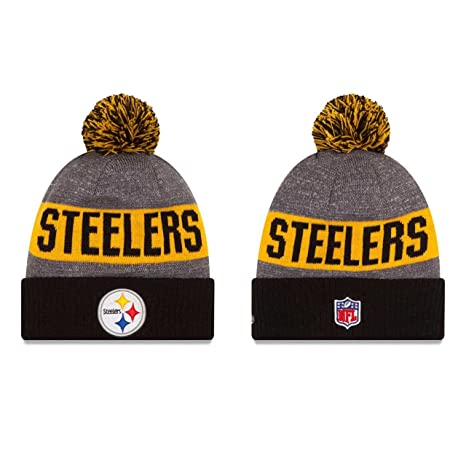 Pittsburgh Steelers New Era 2016 Sideline ON FIELD Sport Knit Hat gorro –  Black Cuff 3ae7eb9baed