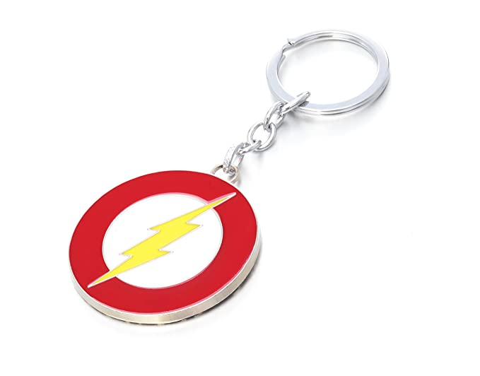 REINDEAR DC Comics THE FLASH Lightning Bolt Justice League Barry Alle Metal Keychain US Seller