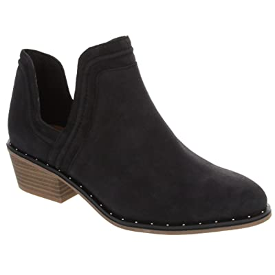 Sugar Women's Eevi Bootie with Cutouts on Ankle and Studs | Ankle & Bootie