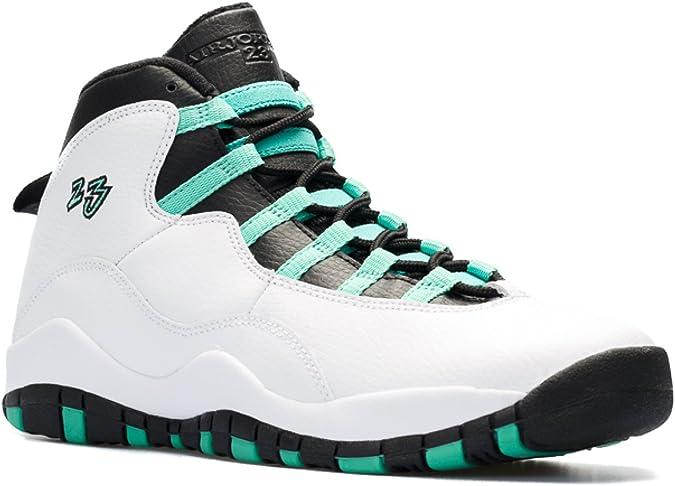 "Amazon.com: Nike Air Jordan 10 Retro 30TH GG ""verde ..."