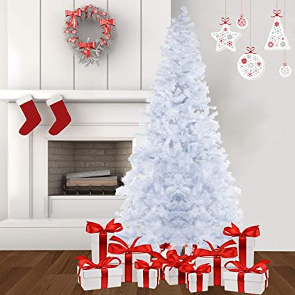 8 foot artificial christmas tree unlit suncom feet christmas tree artificial pine tree full branch 1500 tips with solid amazoncom