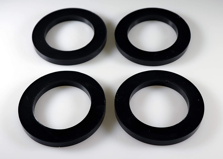 1.75 OD x 0.63 ID x 0.25 Thick, 50 Durometer Sorbothane Premium Vibration Isolation Washer Medium