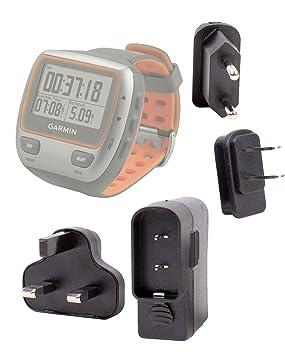 DURAGADGET Cargador De Viaje Para Reloj GPS Deportivo Garmin Forerunner 310XT / 220 HRM / 610 HRM: Amazon.es: Electrónica