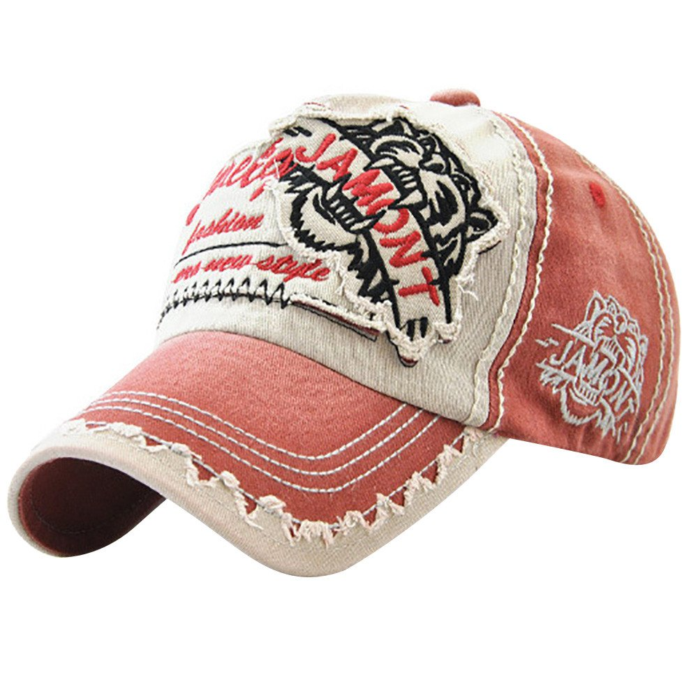MINXINWY_ Gorras Sombrero de Mezclilla Unisex, Béisbol Vieja Letra ...
