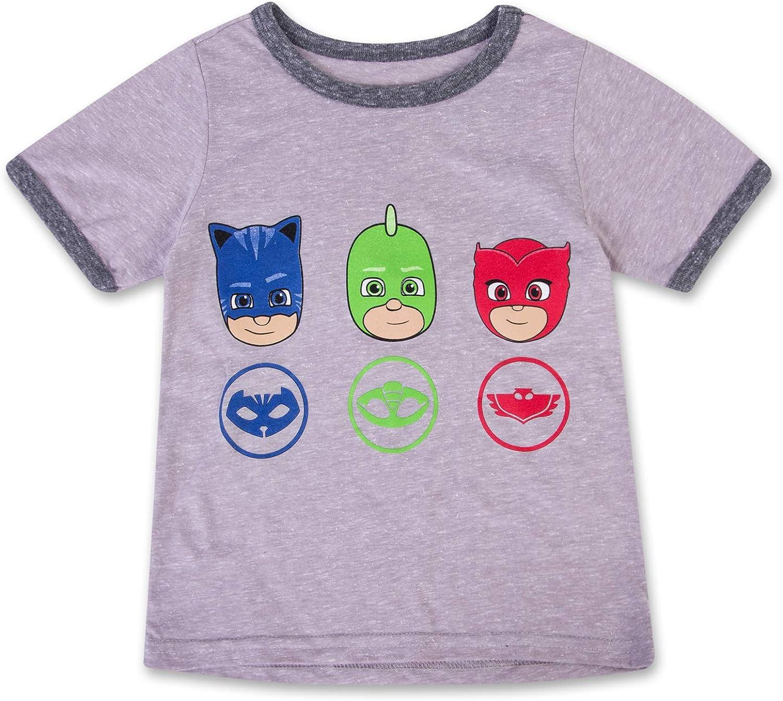 Gekko Short Sleeve Caped T-Shirt PJ Masks Boys Caped Shirt PJMASKS Catboy Owlette
