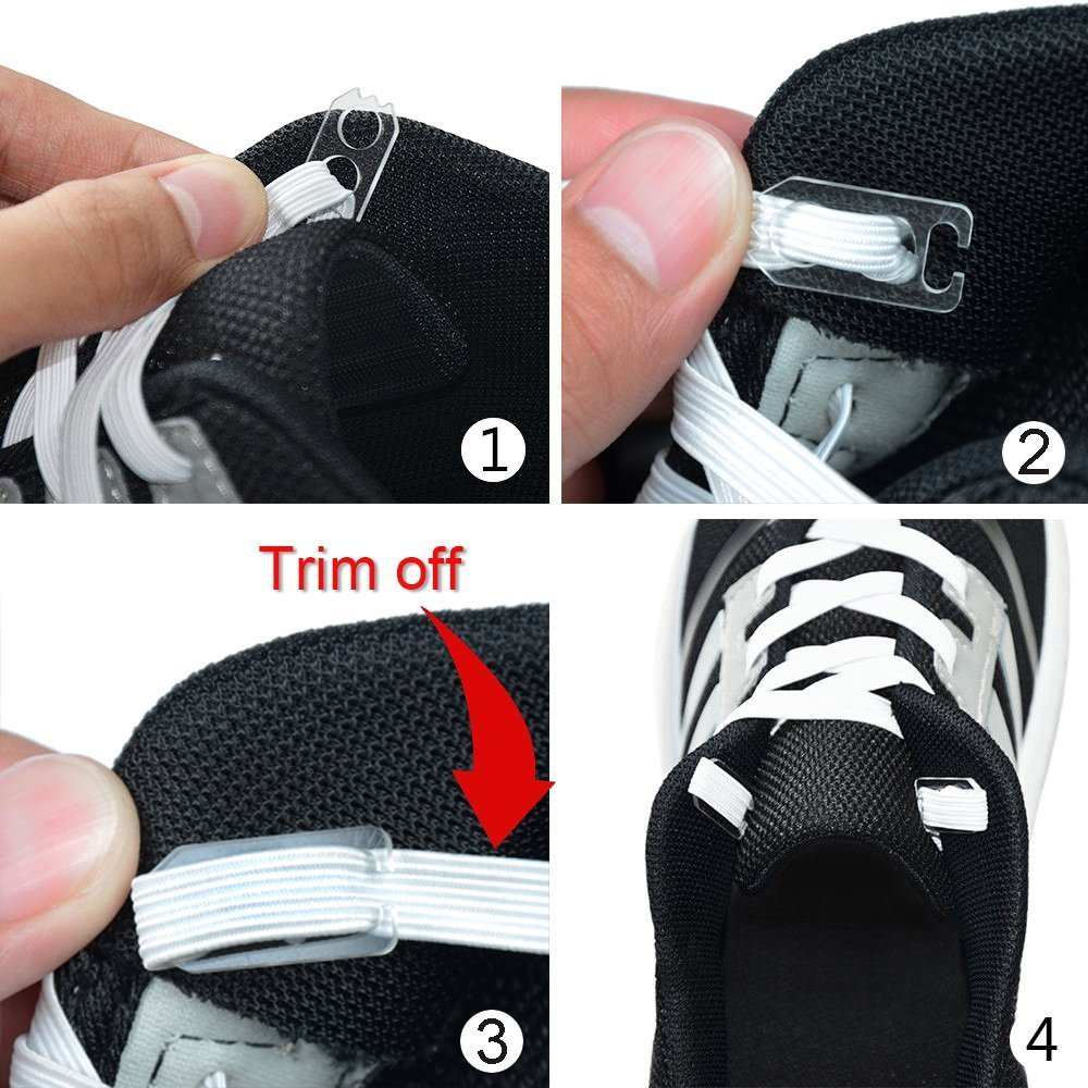 ddbe8189b3db Amazon.com   Sunface No Tie Shoelaces for Kids and Adult - Elastic Sports  Fan Shoelace with Adjustable Tension Shoe Lace for Sneakers Tennis Shoes  Running ...