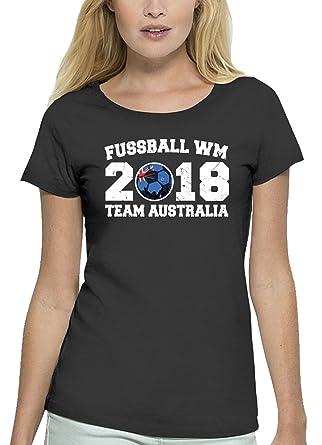 Australien Fußball WM Fanfest Gruppen Premium Bio Baumwoll Damen ...