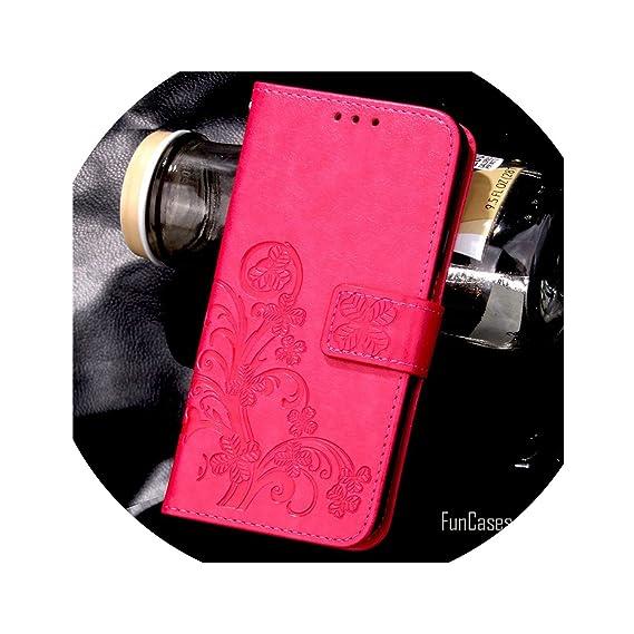 Amazon.com: for iPhone 7 Plus 4S 5S 4 5 6 S Leather Flip ...