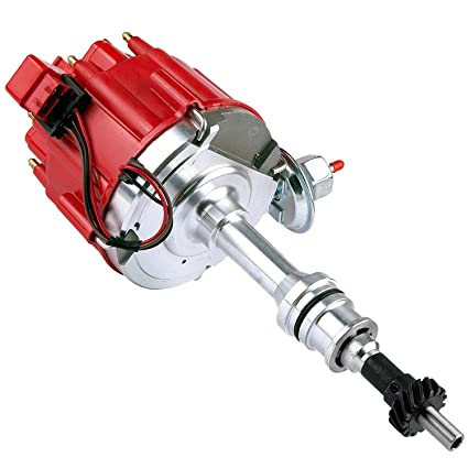 Brand New Compatible Ignition Distributor w/Cap & Rotor 1046013 for Ford  351C 351M 400 429 460 HEI 65,000 Volt Coil KA-1046013 PE332U JM6506BL