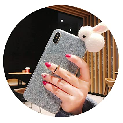 Amazon.com: Glitter Ring Buckle Back Fitted Case iPhone 5/5C ...