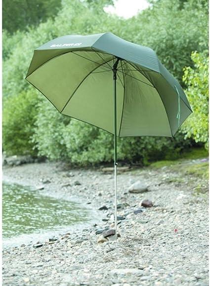 g8ds/® 45er Schirm Angelschirm Gr/ün Brolly Angelausr/üstung Karpfenangeln