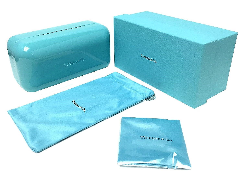 720d7446aaf1 Amazon.com  Tiffany   Co. Womens TF4089B 8055 3C Black Grey Gradient  Sunglasses  Clothing