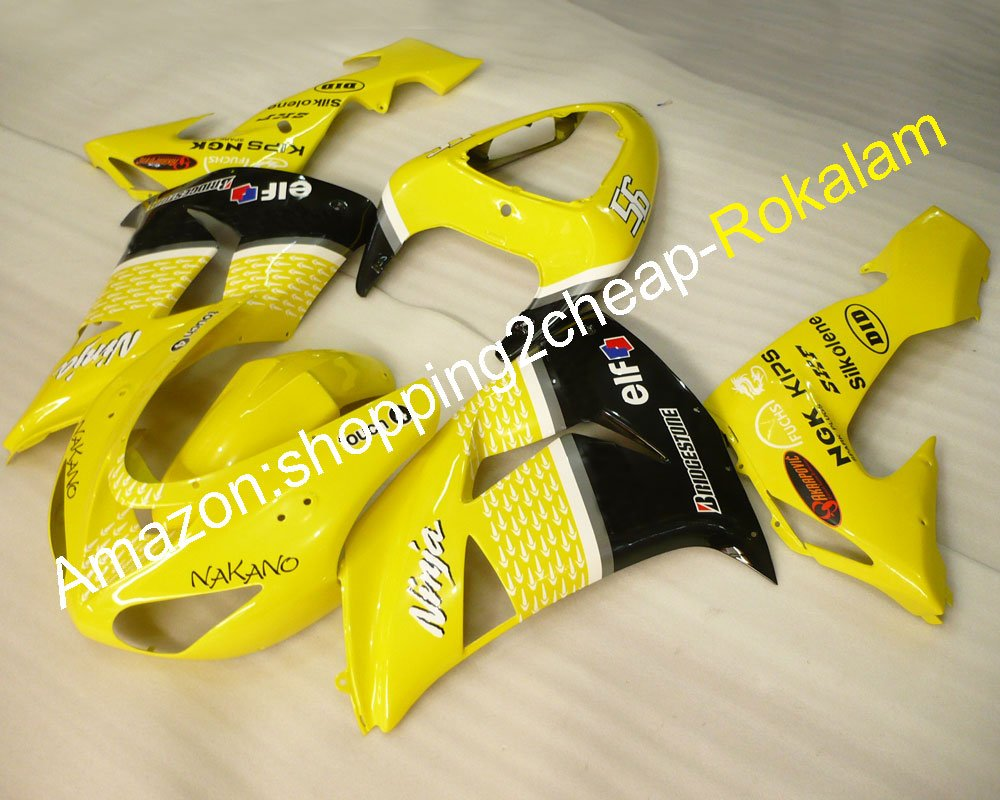 Kawasaki Ninja ZX10R 2006-2007, Kit de carenado de carreras ...