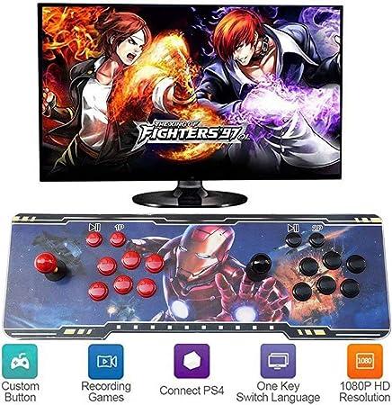 LP-LLL Pandoras Box - 3D Pandora Games Arcade Console, Juegos precargados, Buscar/Guardar/Ocultar/Pausar Juegos, 1280x720 Full HD, Soporte multijugador en línea: Amazon.es: Hogar