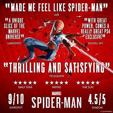 Marvels Spider-Man Game Of The Year Edition - PlayStation 4 [Importación inglesa]: Amazon.es: Videojuegos