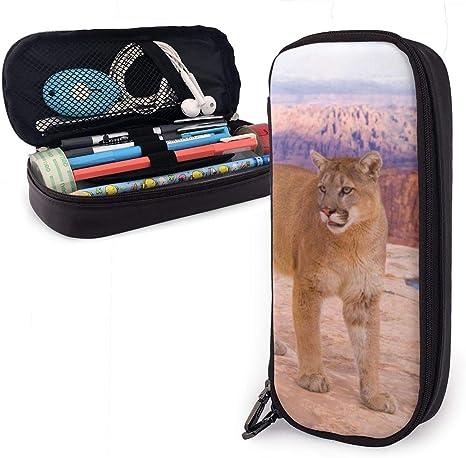 Puma - Estuche para lápices para niños y niñas, grande, para estudiantes, universidad, material escolar y oficina: Amazon.es: Oficina y papelería