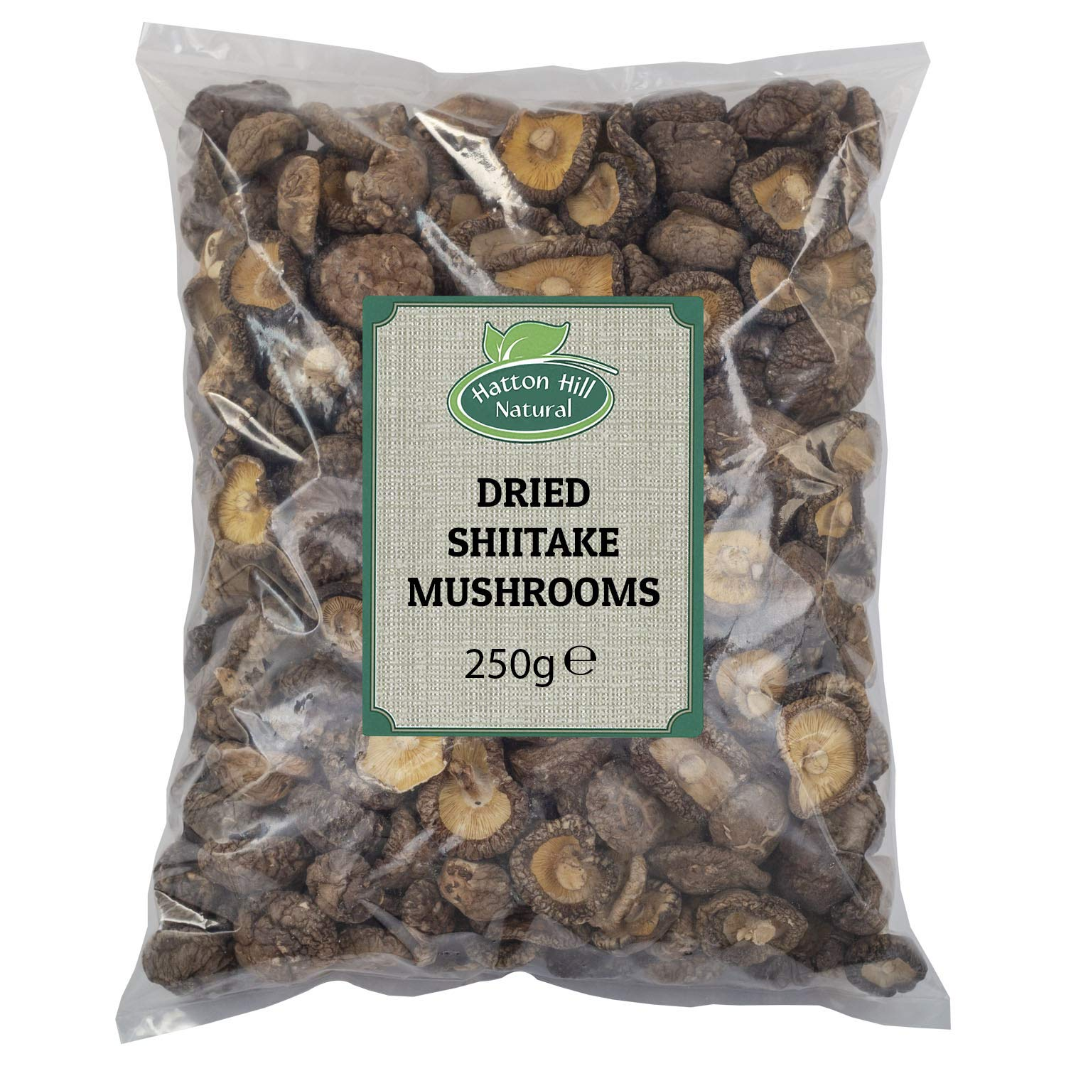 Dried Whole Shiitake Mushrooms 250g - Free UK Delivery