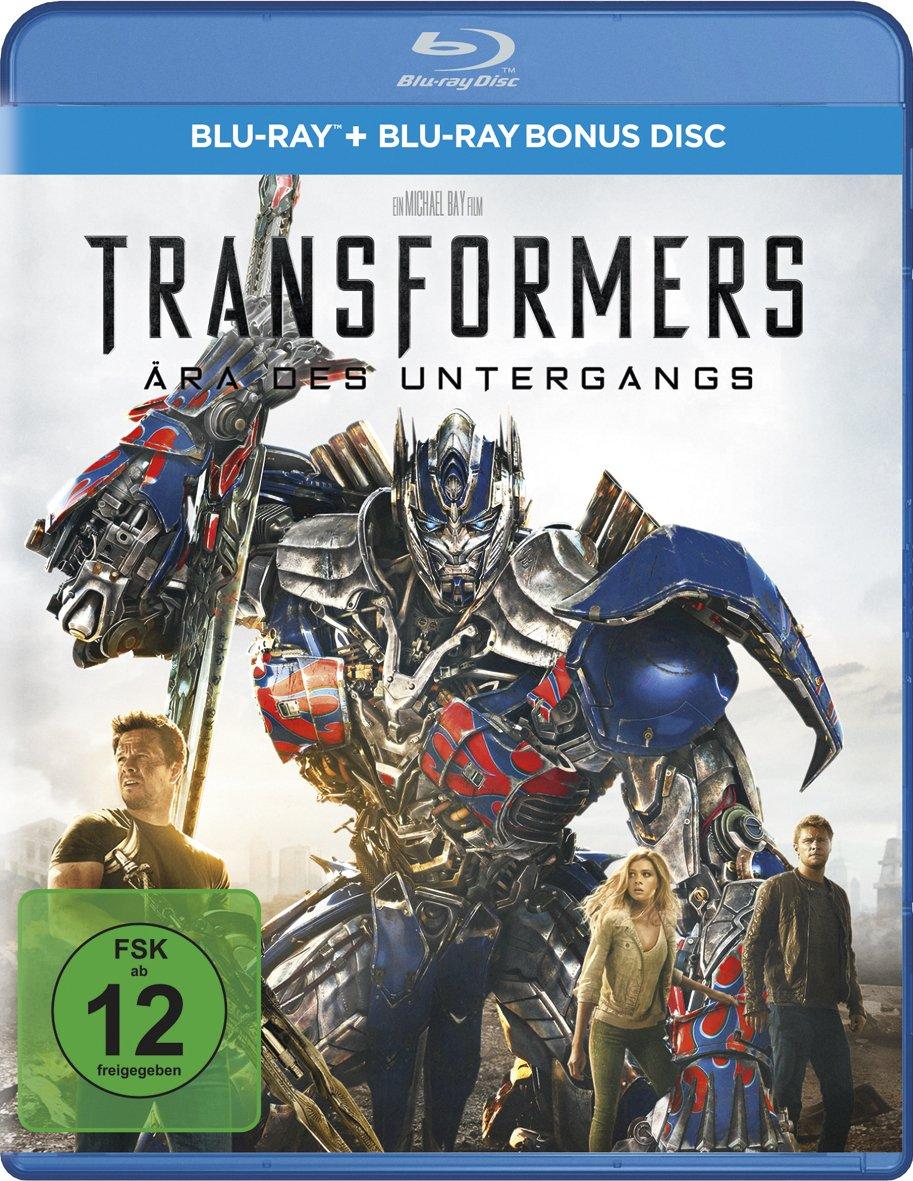Transformers 4 - Ära des Untergangs Alemania Blu-ray: Amazon ...
